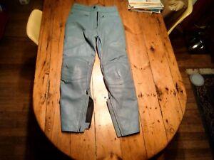 Frank Thomas Lady Rider Motorcycle Leather Pants Size Uk 10 /EUR 36
