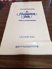 "HAMPTON INN PLASTIC 24"" x 14"" ROOM GUEST LAUNDRY BAGS ( 1000 BAGS ) CLOSEOUT"
