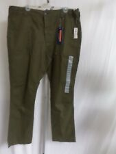 Old Navy Men's Built-In Flex  UNTILITY PANTS ARMY  GREEN   Size 36 BY 32   NWT
