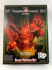 Ral Partha 10-510 25mm Basic Heroes Set - Complete Set - Unpainted - Vintage!