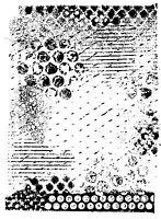 Unmounted Rubber Stamp Grunge Background - 5059