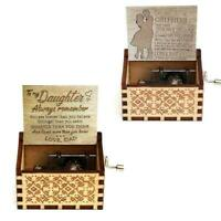 To Girlfriend- I love you forever and always - Engraved Music Box Original D9J7