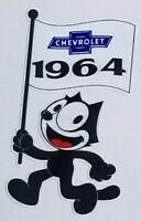 FELIX Chevrolet Dealer Vinyl Decal Sticker Chevy 4277