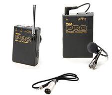 Pro XA25 WLM XLR M wireless lavalier mic for Canon XF100 XA20 XA10 HD audio