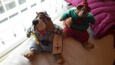 Russ Berrie Cloth and Ceramic Dogs Joblot x 2