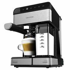 Cafetera Semiautomatica Panel Tactil 20bar 1350w Thermoblock Cecotec ccino-20 Ne