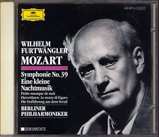 Wilhelm FURTWÄNGLER: MOZART Symphony No.39 Eine kleine Nachtmusik FURTWANGLER CD
