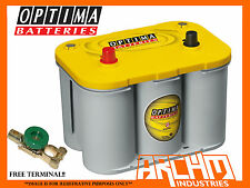 OPTIMA D34 YELLOW TOP DEEP CYCLE 12V BATTERY 4WD/CARAVAN/INVERTER/DUAL/WAECO/ARB