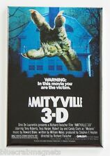 Amityville 3 FRIDGE MAGNET (2.5 x 3.5 inches) movie poster haunted house 3D