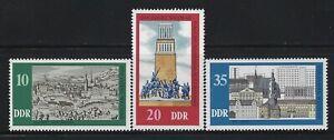GERMANY DDR - #1686-#1688 - 1975 WEIMAR MILLENNIUM MINT SET MNH