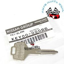 NEW GENUINE OEM NISSAN BLANK UNCUT NON-CHIP MATER SPARE KEY KEY00-00066