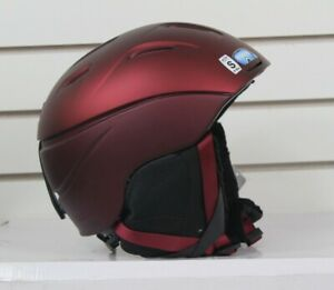 Smith Intrigue Ski and Snowboard Helmet, Women's Small 51-55 cm, Merlot Red