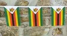 Zimbabwe Flag Polyester Bunting - Various Lengths