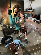 "Sideshow Exclusive1:6 Lara Croft Tomb Raider Legend Hot Toy Rare Figure 12"""