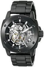 Fossil Men's ME3080 Modern Machine Automatic Skeleton Dial Black Steel Watch