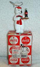 Coca Cola Coke Polar Bear Always An Artist arteest Christmas Ornament