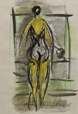 Peintures du XXe siècle et contemporaines aquarelles signées abstraits