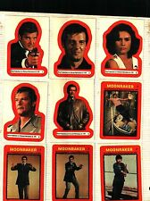 "1979 Topps Moonraker Sticker Card Set (22) EX. to NM. ""REDUCED PRICE""...SPECIAL"