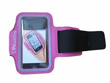 Lifeworks || Sport Sleeve || Fits Most Smartphones || Pink & Black || New ||