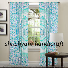 Wall Hanging Indian Mandala Bohemian Handmade Decorative Curtains window Draper