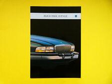 Prospectus/Catalogue/Brochure BUICK PARK AVENUE