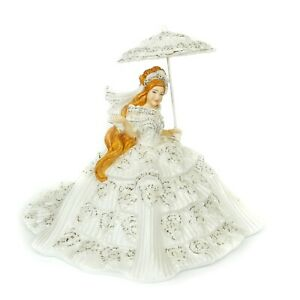 English Ladies Thelma Madine Perfect Little Princess Red Head Figurine