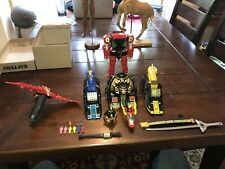 Vintage 1994 Power Rangers Red Dragon Thunderzord Assault Team Bandai Megazord