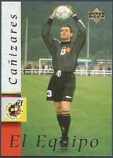 UPPER DECK-SPANISH FOOTBALLERS WORLD CUP-1998- #02-SANTIAGO CANIZARES