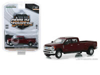 GREENLIGHT Dually Drivers 2019 Ford F-350 Lariat 1:64 Red