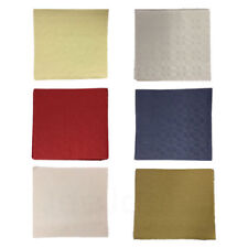 More details for disposable paper table covers table cloths 90x90cm all colours wedding party