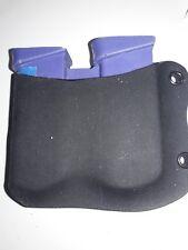 Glock 43 Custom Kydex Double Magazine  Holster