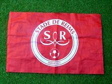 Drapeau Stade de Reims signé AXEL DISASI foot ultras