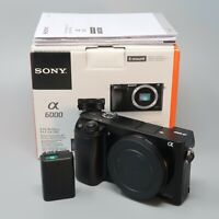 Sony Alpha a6000 body only - plus battery & box - NEEDS REPAIR