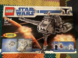 Rare Lego 7680 Star Wars The Twilight Limited Edition Set New 12yrs Old!