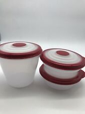 Tupperware Bowls NEW-Stuffable Set Of 3