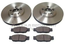 FOR JAGUAR S TYPE 2.5 3.0 99-04 FRONT 2 BRAKE DISCS & PADS CHECK SIZE 300MM ONLY