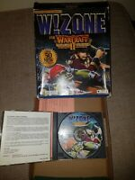 WARCRAFT II W!ZONE  For Tides of Darkness Add-on PC CD BIG BOX