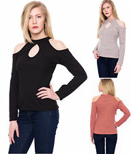 Keyhole Regular Size Tops & Shirts for Women