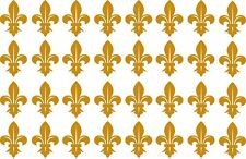 Lot of 32 small Fleur De Lis, New Orleans,French, decals or stickers vinyl cut.