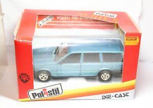Polisti Volvo 760 Station Wagon In Its Original Box - Excellent Retro 1:25 Rare