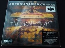 American Head Charge CD The War Of Art Album with POSTER Heavy Metal VGC 2002 UK