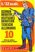 Atlantic 1/32 -World War II German Infantry - VINTAGE RARE BOX SERIE 2101