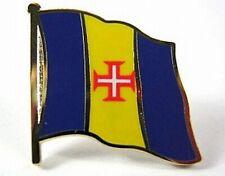 Madeira Flags Pin, 1,5 cm, New Pressure Cap