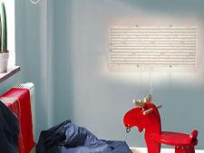Wandleuchten Wechsel Scheibe Bild IKEA GYLLEN 56cm mit Motiv: Beige Streifen Neu