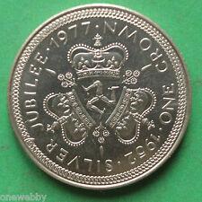 1977 Isle of Man Silver jubilee UNC Crown SNo36641