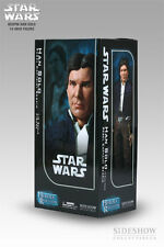 "HAN SOLO Star Wars SIDESHOW 12"" Figure BESPIN CAPTAIN Indiana Jones Empire Jedi"