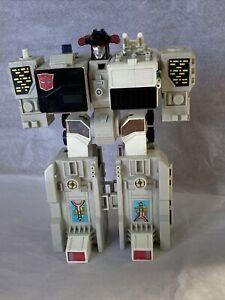 Vintage Transformers Metroplex Autobot Base 1985 Hasbro Takara INCOMPLETE!
