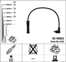 NGK Zündleitungssatz 8185 für RENAULT TWINGO MEGANE KANGOO CLIO 2 1 FC0 KA0 KC0