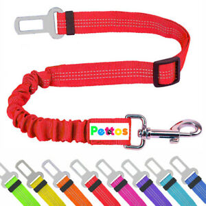 Anti Shock Pet Dog Car Seat Belt Clip Bungee Lead Vehicle Travel Safety Harness