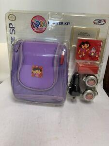 Nintendo Game Boy Advance SP Accessories Dora the Explorer Starter Kit New